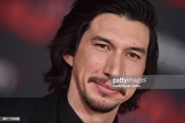 Actor Adam Driver attends the Los Angeles premiere of 'Star Wars The Last Jedi' at The Shrine Auditorium on December 9 2017 in Los Angeles California