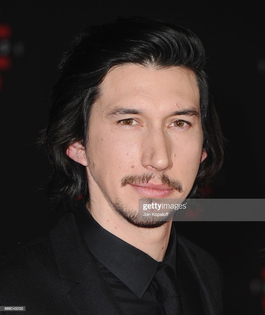 Actor Adam Driver attends the Los Angeles Premiere 'Star Wars: The Last Jedi' at The Shrine Auditorium on December 9, 2017 in Los Angeles, California.