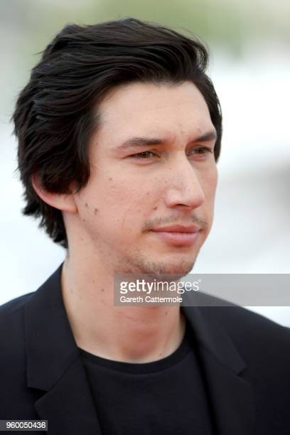 Actor Adam Driver attends 'The Man Who Killed Don Quixote' Photocall during the 71st annual Cannes Film Festival at Palais des Festivals on May 19...