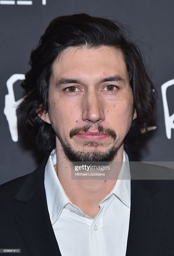 Actor Adam Driver attends the New York screening of 'Paterson' at Landmark Sunshine Cinema on December 15, 2016 in New York City.