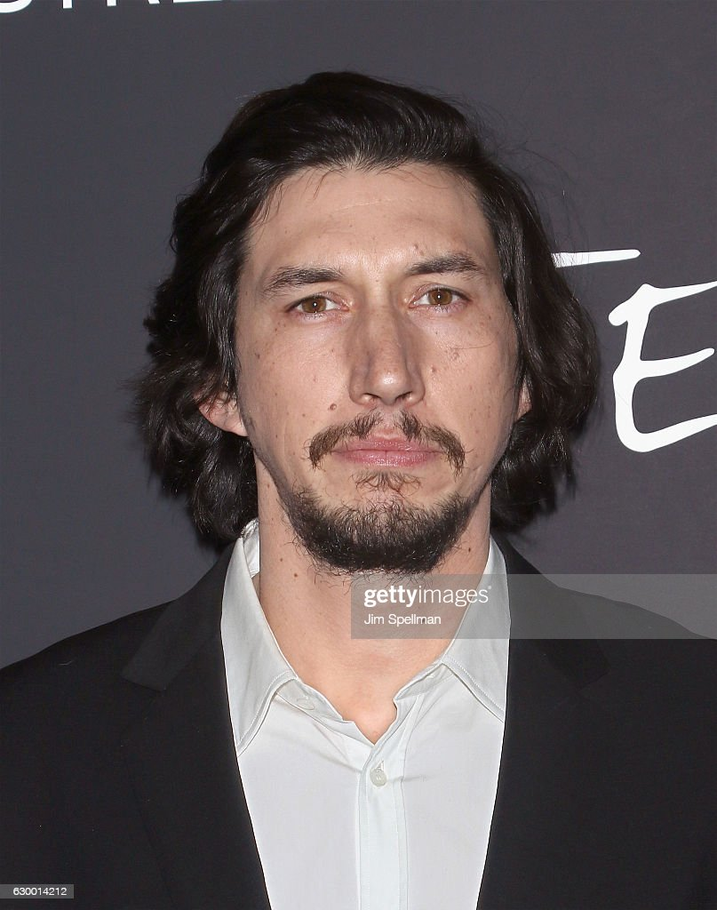 Actor Adam Driver attends the 'Paterson' New York screening at Landmark Sunshine Cinema on December 15, 2016 in New York City.