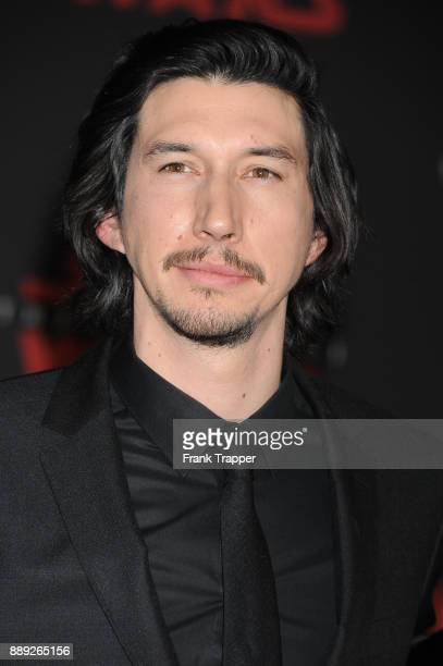 Actor Adam Driver attends the premiere of Disney Pictures and Lucasfilm's 'Star Wars The Last Jedi' held at The Shrine Auditorium on December 9 2017...