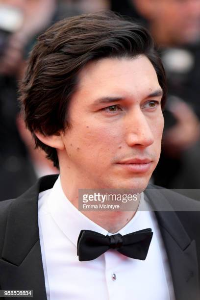 Actor Adam Driver attends the screening of 'BlacKkKlansman' during the 71st annual Cannes Film Festival at Palais des Festivals on May 14 2018 in...
