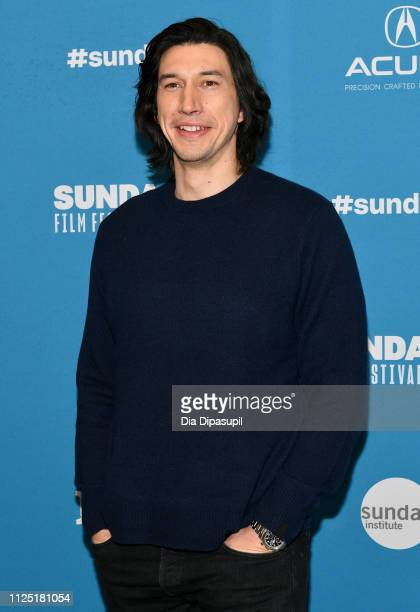 Actor Adam Driver attends the The Report Premiere during the 2019 Sundance Film Festival at Eccles Center Theatre on January 26 2019 in Park City Utah