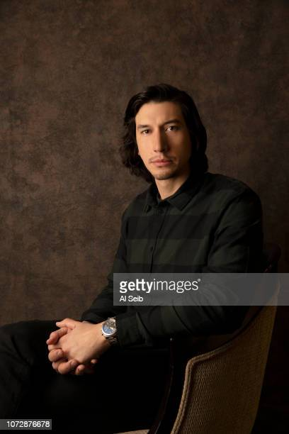 Actor Adam Driver is photographed for Los Angeles Times on November 7 2018 in Los Angeles California PUBLISHED IMAGE CREDIT MUST READ Al Seib/Los...