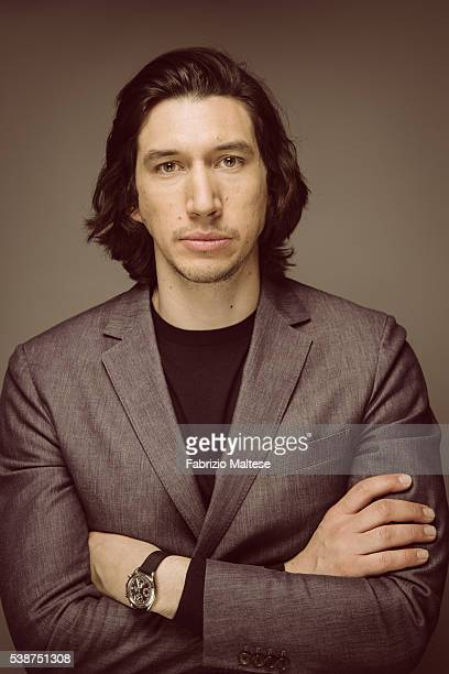 Actor Adam Driver is photographed for The Hollywood Reporter on May 14 2016 in Cannes France
