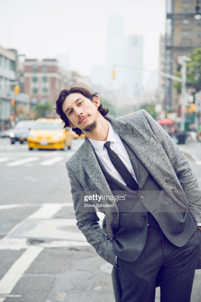 Adam Driver, Vogue magazine USA, February 1, 2013