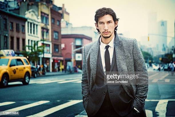 Actor Adam Driver is photographed for Vogue magazine on October 4 2012 in New York City