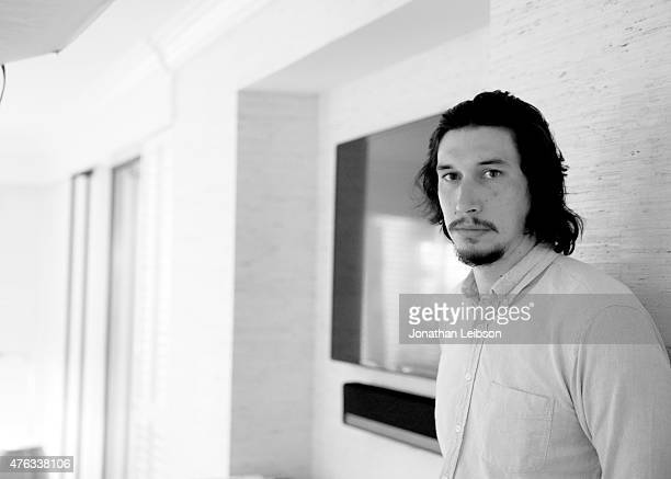 Actor Adam Driver, recipient of 2015 Maui Film Festival Shining Star Award, poses for a portrait during the 2015 Maui Film Festival at the Four...