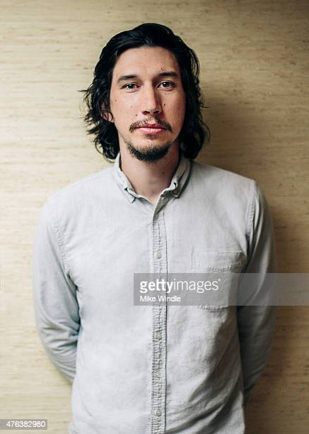 Actor Adam Driver recipient of 2015 Maui Film Festival Shining Star Award poses for a portrait during the 2015 Maui Film Festival at the Four Seasons...