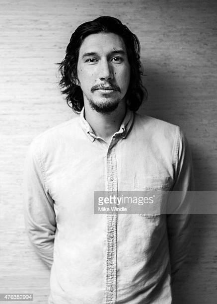 Actor Adam Driver recipient of 2015 Maui Film Festival Shining Star Award poses for a portrait during the 2015 Maui Film Festival at the Four Seasons...