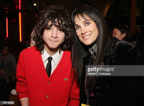 Actor Adam G Sevani and actress Connie Sellecca attend the after party for the world premiere of Touchstone Pictures' Step Up 2 The Streets on...
