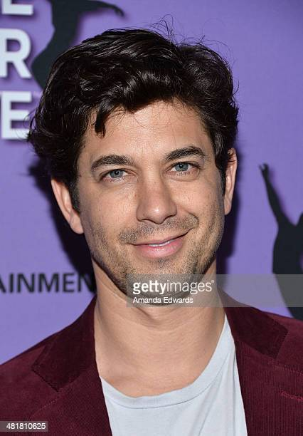 Actor Adam Garcia arrives at the Los Angeles premiere of Make Your Move at Pacific Theaters at the Grove on March 31 2014 in Los Angeles California