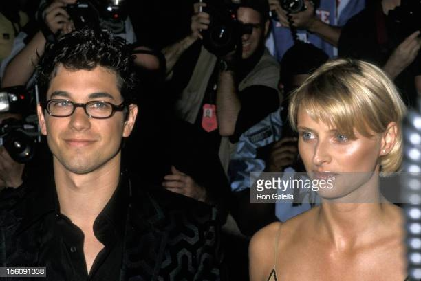 Actor Adam Garcia attending the premiere of 'Coyote Ugly' on July 11 2000 at the Ziegfeld Theater in New York City