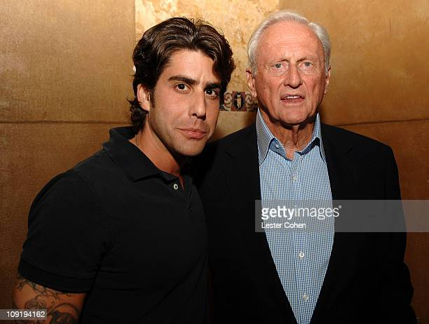 Actor Adam Goldberg and Samuel Goldwyn Films's Samuel Goldwyn Jr at the 2 Days in Paris Los Angeles premiere after party at the Pig n' Whistle on...