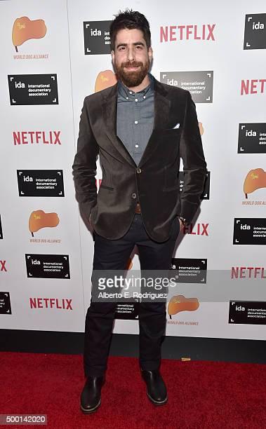 Actor Adam Goldberg attends the 2015 IDA Documentary Awards at Paramount Studios on December 5 2015 in Hollywood California