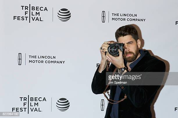 Actor Adam Goldberg attends the 2016 Tribeca Film Festival 'Between Us' Premiere at SVA Theatre on April 18 2016 in New York City
