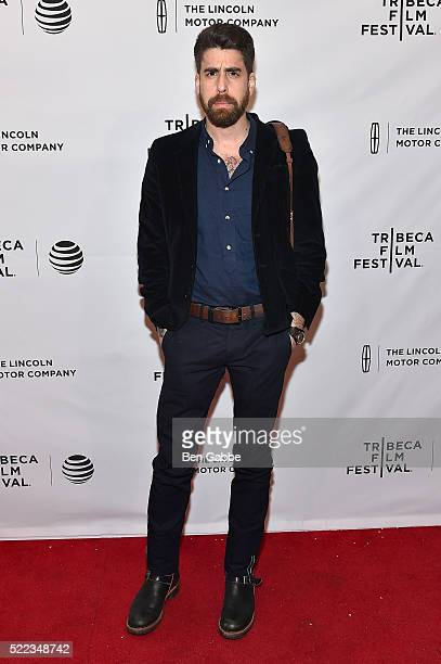Actor Adam Goldberg attends the 'Between Us' Premiere during the 2016 Tribeca Film Festival at SVA Theatre 2 on April 18 2016 in New York City
