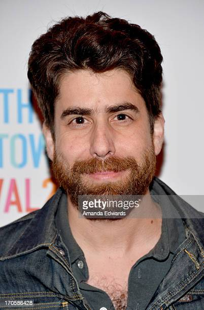 Actor Adam Goldberg attends the LAFilmFest screening of 'Dazed and Confused' during the 2013 Los Angeles Film Festival at FIGat7th on June 14 2013 in...