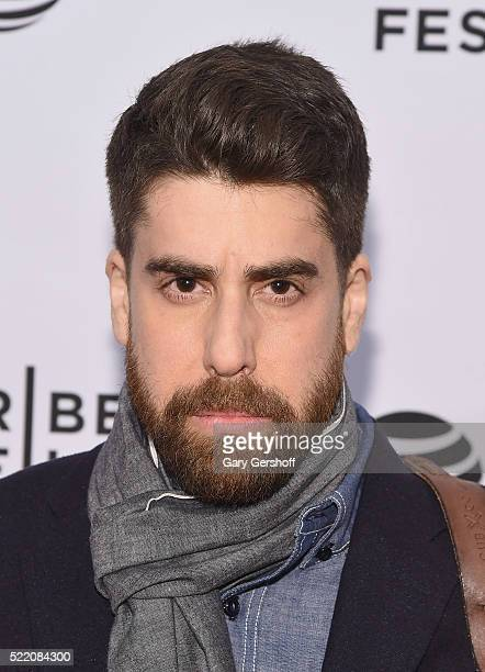 Actor Adam Goldberg attends the 'Rebirth' Premiere during 2016 Tribeca Film Festival at SVA Theatre on April 17 2016 in New York City