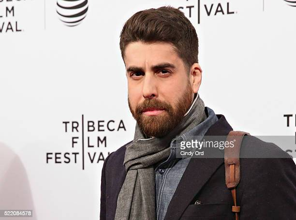 Actor Adam Goldberg attends the 'Rebirth' Premiere during the 2016 Tribeca Film Festivalat SVA Theatre 2 on April 17 2016 in New York City