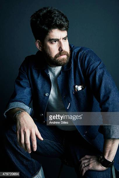 Actor Adam Goldberg is photographed for The Wrap on June 25 2015 in Los Angeles California