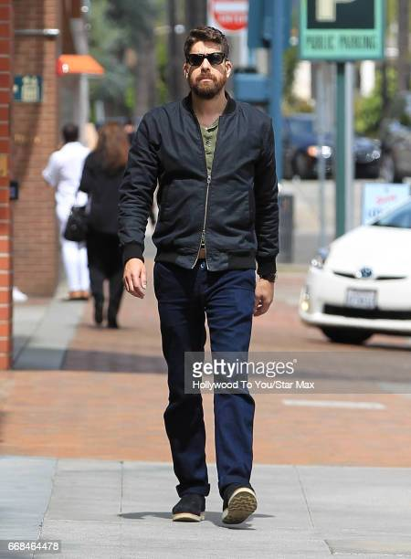 Actor Adam Goldberg is seen on April 13 2017 in Los Angeles CA