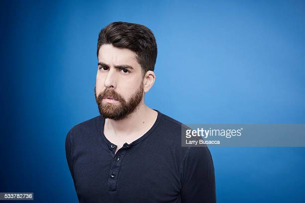 Actor Adam Goldberg poses for a portrait at the Tribeca Film Festival on April 18 2016 in New York City