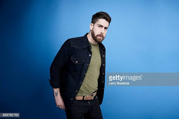 Actor Adam Goldberg poses for a portrait at the Tribeca Film Festival on April 19 2016 in New York City