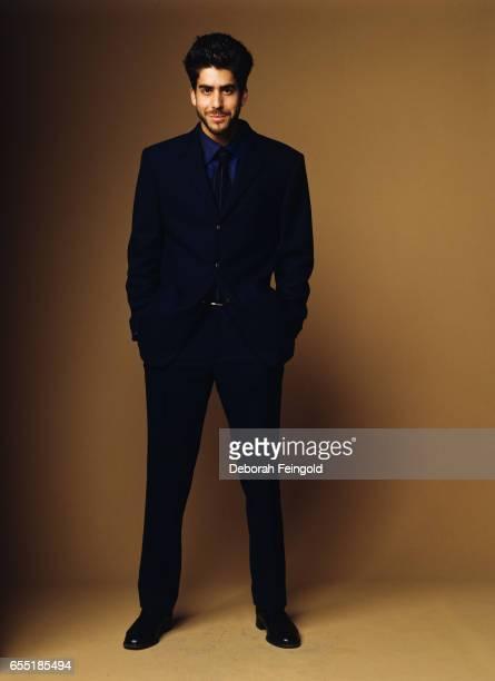Actor Adam Goldberg poses in August 2000 in New York City New York 'r
