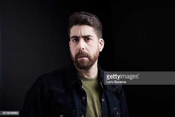 Actor Adam Goldberg 'Rebirth' poses at the Tribeca Film Festival Getty Images Studio on April 19 2016 in New York City