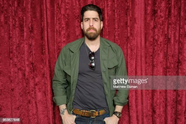 Actor Adam Goldberg visits SiriusXM Studios on May 2 2018 in New York City