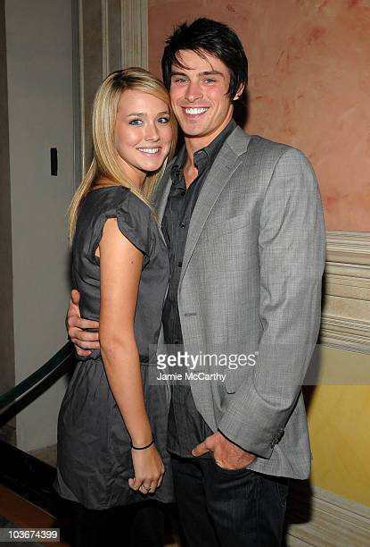 Actor Adam Gregory and Sheridan Sperry attend the TAO and LAVO anniversary weekend held at TAO in the Venetian Resort Hotel Casino on October 3 2009...