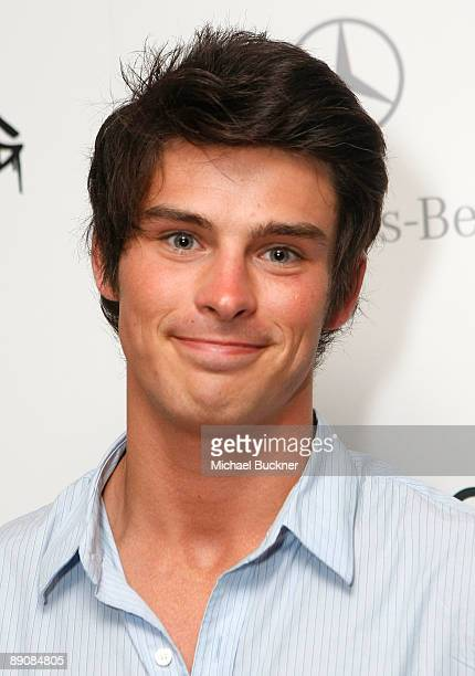 Actor Adam Gregory attends the L*Space by Monica 2010 fashion show after party during MercedesBenz Fashion Week Swim at Louis at the Gansevoort South...