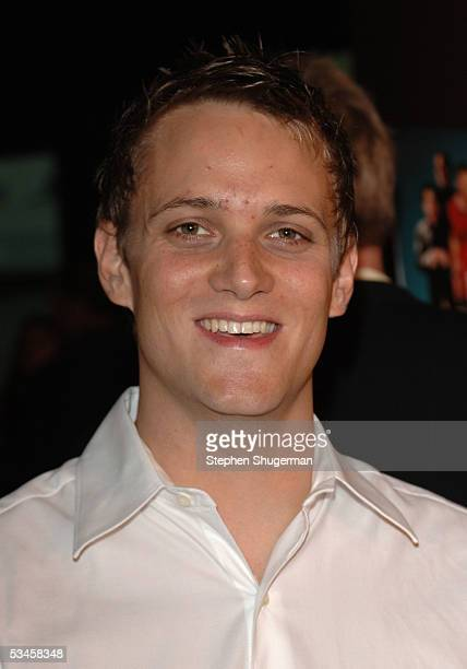 Actor Adam Grimes attends the world premiere of Dirty Deeds at the Directors Guild of America on August 23 2005 in Los Angeles California
