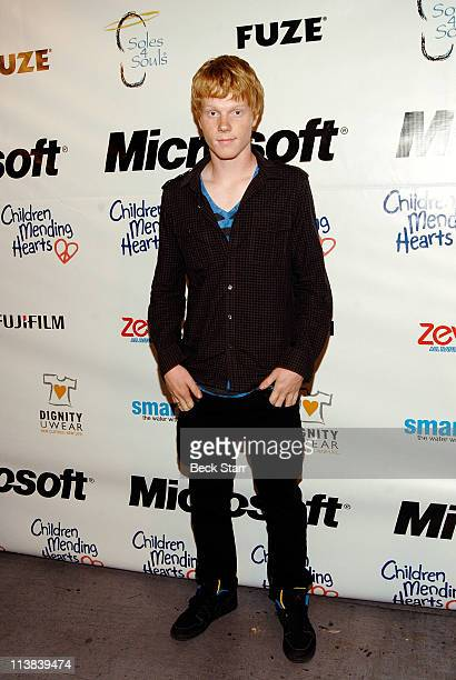 Actor Adam Hicks attends 'Children Mending Hearts 4th Annual Please Mr President Workshop' on May 7 2011 in Los Angeles California