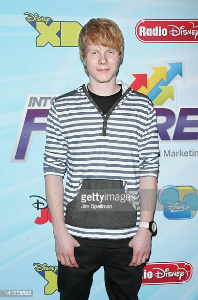 Actor Adam Hicks attends the 201213 Disney Channel Worldwide Kids Upfront at the Hard Rock Cafe Times Square on March 13 2012 in New York City