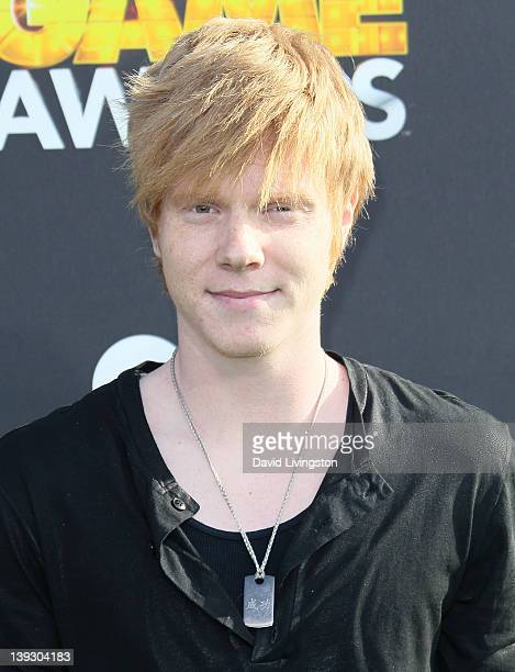 Actor Adam Hicks attends the 2nd Annual Cartoon Network Hall of Game Awards at Barker Hangar on February 18 2012 in Santa Monica California