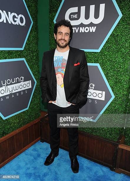 Actor Adam Korson attends the 2014 Young Hollywood Awards brought to you by Samsung Galaxy at The Wiltern on July 27 2014 in Los Angeles California