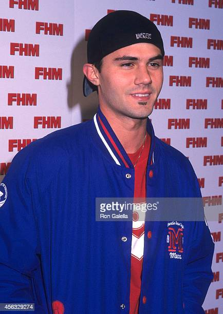Actor Adam LaVorgna attends Brooke Burke's New Swimwear Line 'Barely Brooke' Launch Party on December 4 2002 at Eugene's in New York City