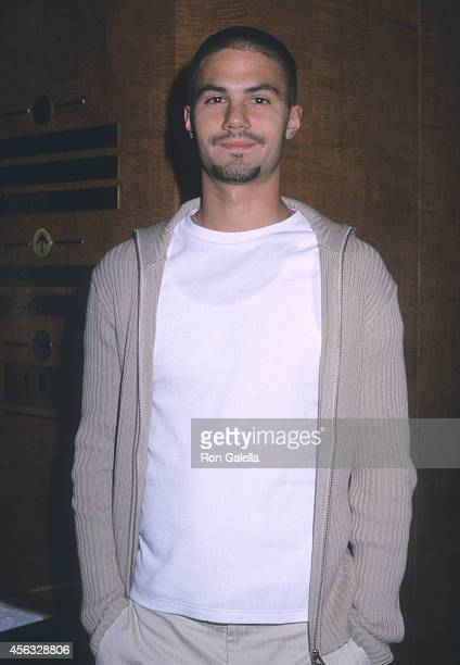 Actor Adam LaVorgna attends the WB Television Upfront AllStar Party on May 14 2002 at the Sheraton New York Hotel in New York City