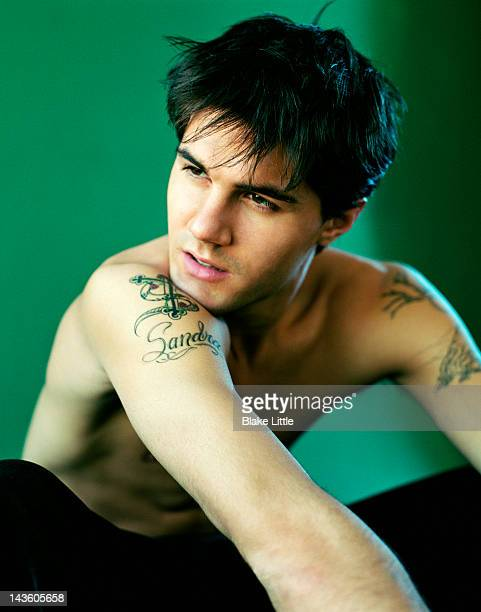 Actor Adam Lavorgna is photographed for People en Espanol on January 1 2001 in Los Angeles California