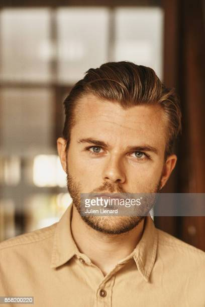 Actor Adam Lawrence is photographed for Self Assignment on September 30 2017 in Dinard France