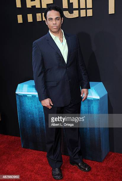 Actor Adam LazarreWhite arrives for STX Entertainment's 'The Gift' Los Angeles Premiere held at Regal Cinemas LA Live on July 30 2015 in Los Angeles...