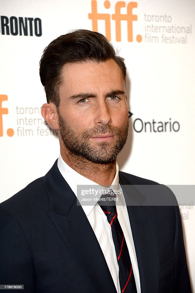 Actor Adam Levine arrives at the 'Can A Song Save Your Life?' premiere during the 2013 Toronto International Film Festival at Princess of Wales Theatre on September 7, 2013 in Toronto, Canada.