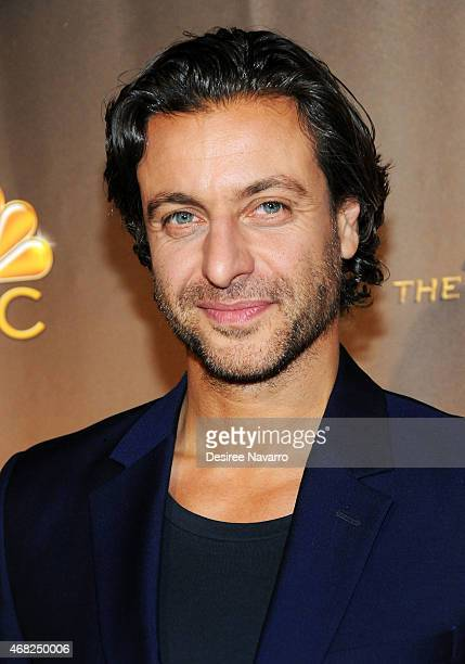 Actor Adam Levy attends 'AD The Bible Continues' New York Premiere Reception at The Highline Hotel on March 31 2015 in New York City