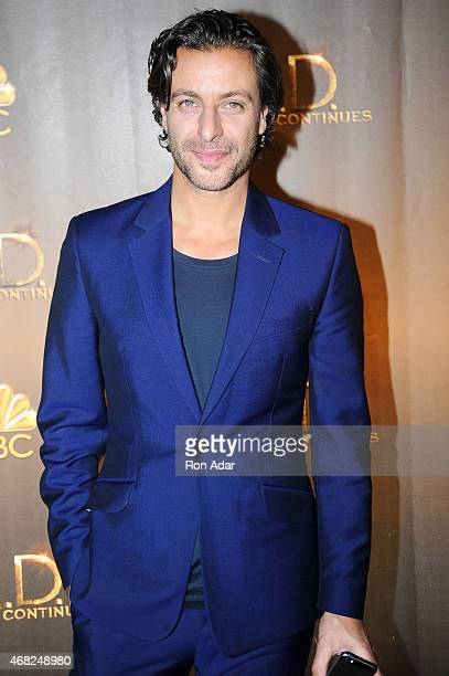 Actor Adam Levy attends the 'AD The Bible Continues' New York Premiere Reception at The Highline Hotel on March 31 2015 in New York City