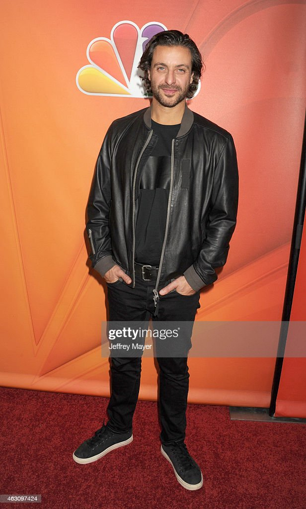 Actor Adam Levy attends the NBCUniversal 2015 Press Tour at the Langham Huntington Hotel on January 16, 2015 in Pasadena, California.