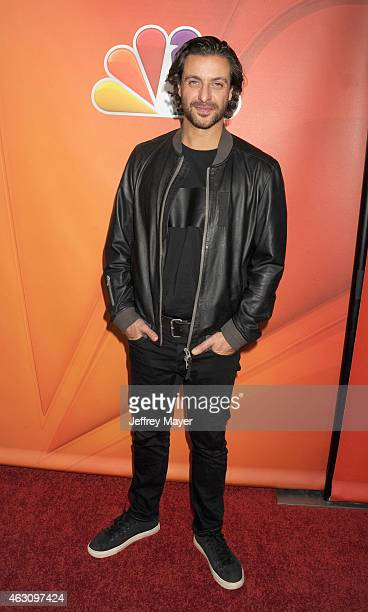 Actor Adam Levy attends the NBCUniversal 2015 Press Tour at the Langham Huntington Hotel on January 16 2015 in Pasadena California