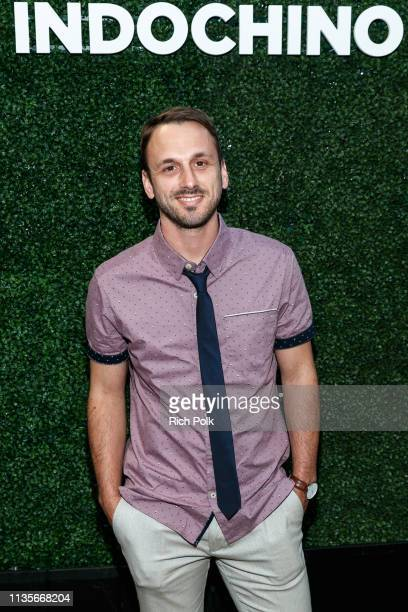 Actor Adam McArthur attends Indochino Los Angeles Spring/Summer '19 Launch Party at SkyBar at the Mondrian Los Angeles on March 13 2019 in West...